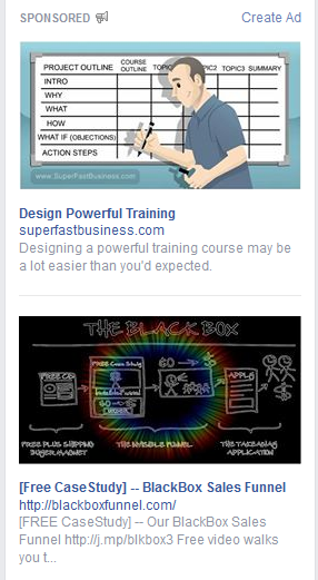 The New Larger Facebook Ads