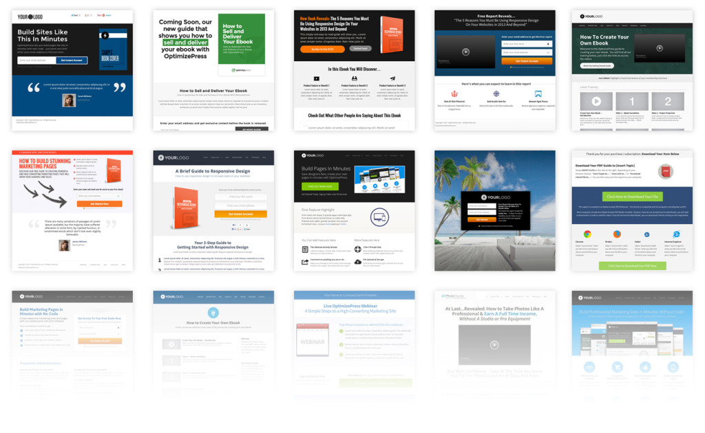 OptimizePress Templates